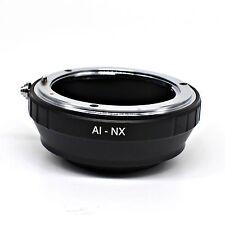 Nikon AF F G AI Lens to Samsung NX mount adapter ring NX-100 NX-10 NX-5 NX-1000