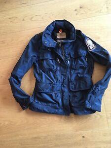 Parajumpers Jacke Windbreaker Blau Gr. Young M ca. 152 super Zustand * cool ***