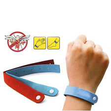 10X ANTI MOSQUITO BUG REPELLENT WRIST BAND BRACELET INSECT BUG LOCK CAMPING MOZZ