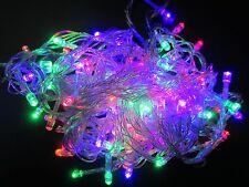10M 100 Leds Bulbs Xmas Fairy Party String Decor RGB Lights Lamps Waterproof EU