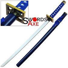 Wooden Ninja Sword Samurai Cosplay Replica Katana LARP Weapon Collectible