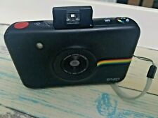 Polaroid Snap Touch Instant Digital Camera With Built-In-Flash - Black - USED