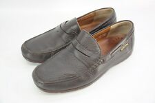 Mephisto Spinnaker Air Relax Slip On Penny Loafer Brown Leather Shoes France 12