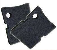 Replacement Hydor 250 / 350  Black Coarse Foam Filter Pad - 2 Pack
