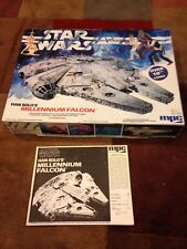 1979 Vintage Star Wars Model Kit Han Solo's Millennium Falcon MPC plus posters