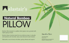 Bamboo Pillow Eco Friendly Natural Fibre by Alastairs Standard Size