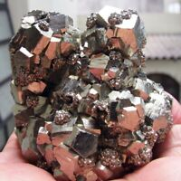 PYRITE BRILLIANT CRYSTALS on MATRIX from PERU.........OUTSTANDING PYRITE QUALITY