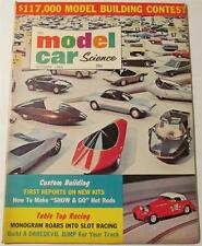 Model Car Science Magazine, October 1964, Monogram 1/32 1/24 Slot Cars