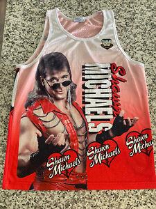 WWE Shawn Michaels Chalk Line Tank Top Adult Medium