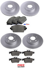 FOR NISSAN PRIMERA ESTATE WP12 1.8 2.0 2.2 DCi FRONT & REAR BRAKE DISCS & PADS