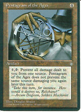 MAGIC THE GATHERING ICE AGE ART PENTAGRAM OF THE AGES