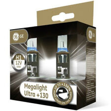 GE Megalight Ultra H1 +130% Light Car Headlight Bulbs (Twin) 50310XNU