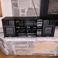 Mint Panasonic RX-CW200L Japan Made Boombox Cassette Recorder Player Stereo AFD