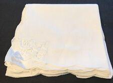 Vintage Battenburg Lace Cloth Napkins~Set Of 8~New