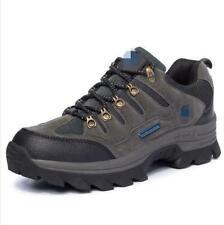 Men Lace Up Hiking Climbing Outdoor Trail Trekking Sneakers Mountain Shoes Retro