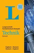 Langenscheidt Fachwörterbuch Kompakt Technik Englisch von Peter A. Schmitt (2012, Taschenbuch)