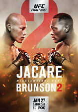 D'Impression A5 – UFC on Fox 27 JACARE vs Brunson 2 (Photo Poster MMA Arts martiaux)