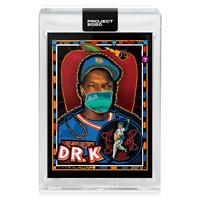 Topps PROJECT 2020 Card 137 - 1985 Dwight(Doc) Gooden by Efdot **Presale**