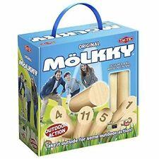 Molkky Broche et Quille Jeu en Carton Boîte avec Poignée