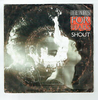 "TEARS FOR FEARS Vinyl 45 tours 7"" SHOUT - THE BIG CHAIR - MERCURY 880294-7"