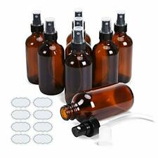 Small Glass Bottles Amber Glass Bottles 4 oz Glass Spray Bottles Empty Atomizer