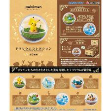 Re-Ment Pokemon Terrarium Mini Figure Collection - Complete Set of 6