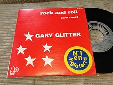"""GARY GLITTER SPANISH 7"""" SINGLE SPAIN BELL 72 - ROCK AND ROLL - GLAM"""