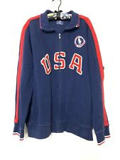 Polo Ralph Lauren 2012 Olympics Team USA Men's Athletic Jacket Sugars #12 Sz XXL