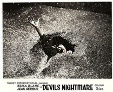 DEVIL'S NIGHTMARE ORIGINAL LOBBY CARD  1971 La plus longue nuit du diable HORROR