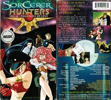 Sorcerer Hunters Vol 4 Phantoms of Love Anime VHS Video Tape New English Dubbed