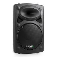 "IBIZA SLK12-A ACTIVE 12"" PA SPEAKER 700W USB SD MP3 DJ DISCO CLUB STAGE PARTY"