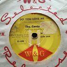 "THE CONTOURS - DO YOU LOVE ME - - Rare 1962 Australian W&G 7"" Funk Soul"