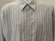 Joseph Feiss Shirt XL Long Sleeve Button Down Striped No Iron 17 32 33