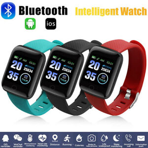 Smart Watch Band Sport Activity Fitness Tracker For Kids Fit bit Android iOS UK.