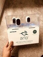 Netgear Arlo 4 Wirefree HD Security Cameras Indoor/Outdoor Night Vision White