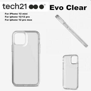 Tech 21 Evo Clear Case Drop Protection Cover for iPhone 13 / 13 Pro / 12 Pro Max