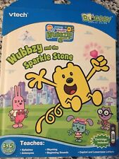Vtech Bugsby Wow Wow Wubbzy and the Sparkle Stone. Reading System Book. new