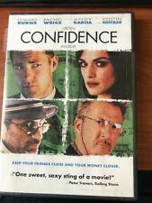 Confidence -Dustin Hoffman/Rachel Weisz- As New Region 1 DVD + Special Features