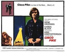 CISCO PIKE Movie POSTER 11x14 C Kris Kristofferson Karen Black Gene Hackman