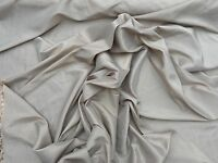 TAUPE/BEIGE TAFFETA PROM/ WEDDING/ BRIDAL DRESS PROM FABRIC MATERIAL 150CMS WIDE