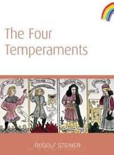 The Four Temperaments DI RUDOLF STEINER LIBRO TASCABILE 9781855842052 NUOVO