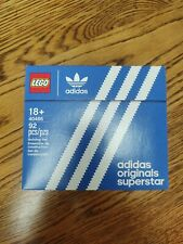 LEGO - Mini Adidas Originals Superstar 40486 Sneakers, Limited Edition - NEW