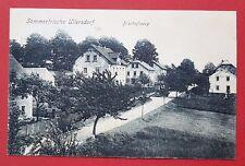 AK ULLERSDORF bei Dresden 1913 Bischofsweg    ( 26276