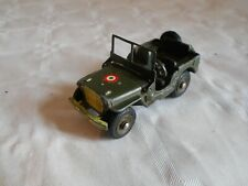 French Dinky toys Army Jeep 80B