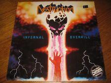 Destruction-Infernal overkill LP,Steamhammer Germany 1985,OIS,megarar,mint,l@@k!