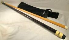 """New listing LONG 89 1/2"""" PLAYERS POOL CUE WITH CARRYING BAG."""
