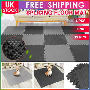 Extra 60x60cm Gym Flooring Interlocking Floor Mats EVA Soft Foam Mat Yoga Tiles
