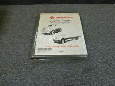 1991 international 4600 4700 4800 4900 truck electrical wiring diagrams  manual