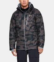 Under Armour Wintour Jacket Charcoal Mens M-L-XL-2XL UA ColdGear Winter Ski Snow