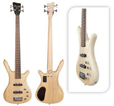 Beaurifully Crafted Monaco by Quincy 4 String Electric Bass Guitar Ash Maple
